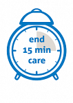 End 15 minute Care Calls