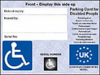 Blue Badge Consultation on Extending Eligibility
