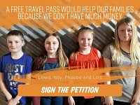 Young Carers' Petition Calls For Free Bus Pass