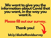 Tell Us What You Want To Know About Covid (A Quick Survey)