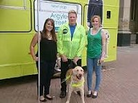 Guide Dog Charity Calling for Talking Buses