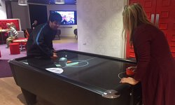 Virgin Lounge - Air Hockey