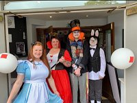 Mad Hatter's Party Was Topper Class Entertainment
