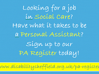 Disability Sheffield PA Register
