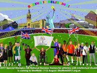 Special Olympics National Games Mural launched in Sheffield