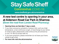 Council Announce Three New Coronavirus Testing Centres